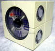 national panasonic,matsushita,tube radio,japanese radio,japan,fm/am,1960's,cube