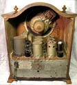 sparton tombstone radio,tube radios,sparton 410,tubesvalves,valve wireless,1930,