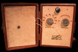 Jewel battery tube radio, 4 tubes,valve radio,wireless,pixie,model 304,