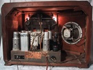silvertone tube radio,teledial,4610,tubesvalves.com,valve wireless,