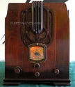 sparton tombstone radio,tube radios,sparton 616,tubesvalves,valve wireless,1935,