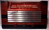 stewart warner 9000b,tube radio,tubesvalves,valve wireless,1947,