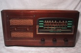 Truetone,d-1123,tubesvalves,valve radio,wireless,6 tubes,1941,1940,