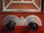 majestic 44a,44b,1933,1934,deco tube radio,chrome grill,tubesvalves.com,