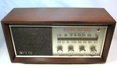 national panasonic,matsushita,tube radio,japanese radio,japan,fm/am,1960's,