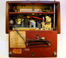 tube radio,ham,receiver,tubesvalves.com, valve wireless, hallicrafters 1953, 1954, tw-2000 battery,