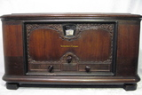 stromberg carlson 641,tube radio,1929,7 tubes,tubesvalves,valve radio,treasure chest,