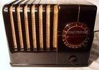 silvertone 4500,election radio,tubesvalves.com,valve wireless,bakelite