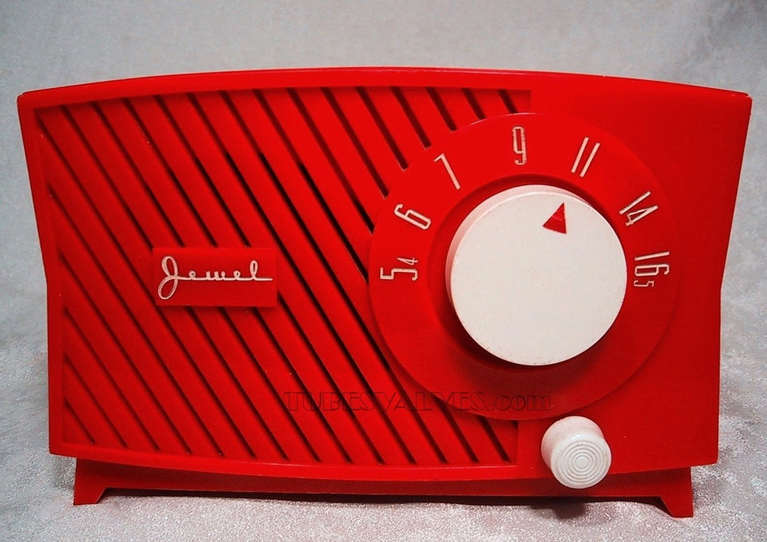 Jewel, tube radio,valve radio,wireless,model 5100 1954