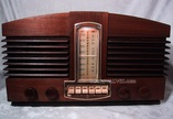 stromberg carlson 1110H,tube radio,tubesvalves,wood case,valve wireless,1946