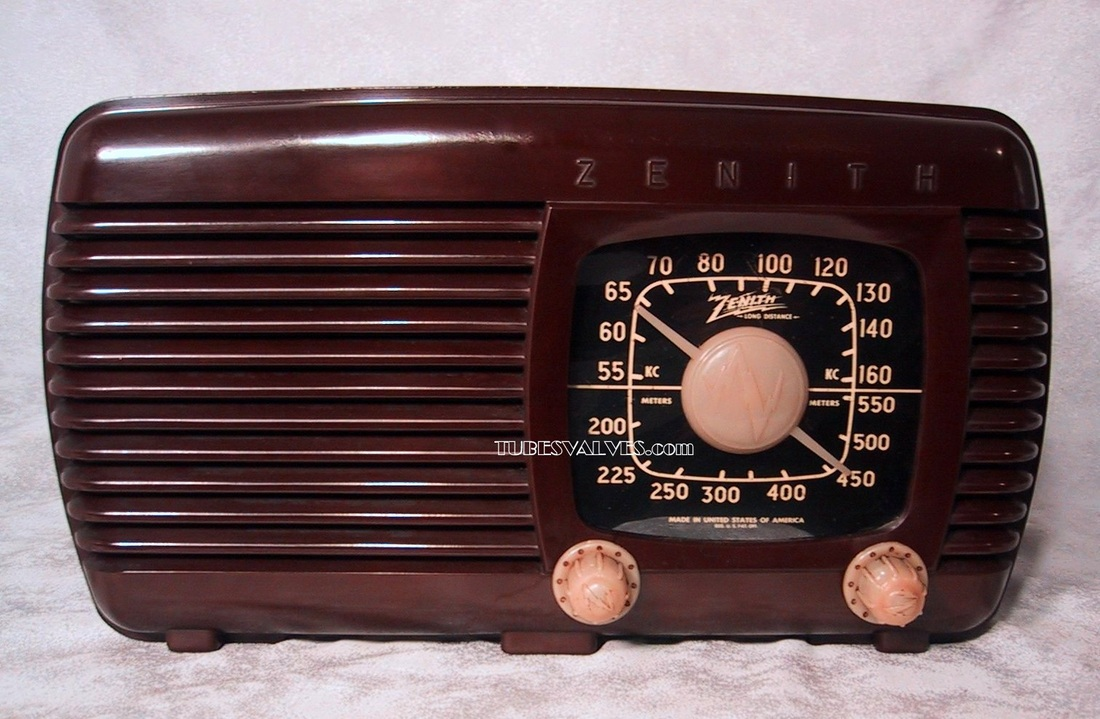zenith 5d-610,5d610,bakelite tube radio,tubesvalves,wireless,