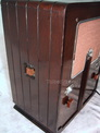 Majestic deco tube radio,model 461,tubesvalves