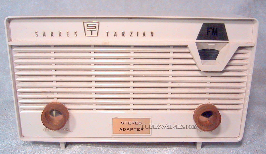 sarkes tarzian,fm radio,tubesvalves,wireless,1960's,