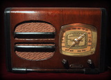 Lafayette,tube radio,wood case, wireless receiver,valves,